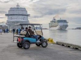 parking galveston cruise