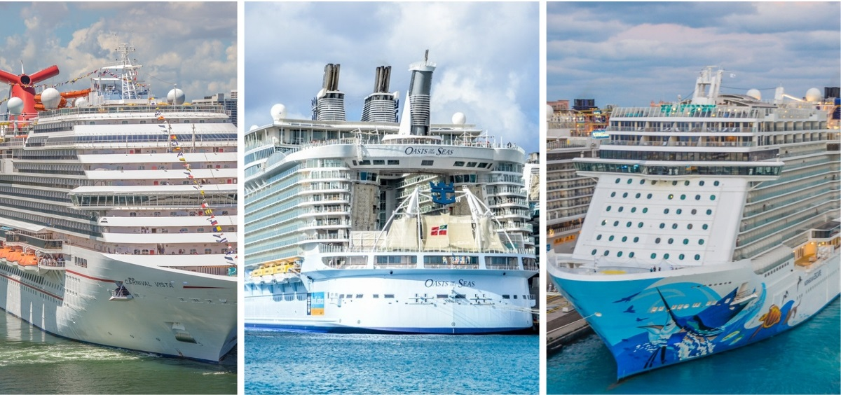Cruise Lines Compared: Carnival, Royal Caribbean, and Norwegian in