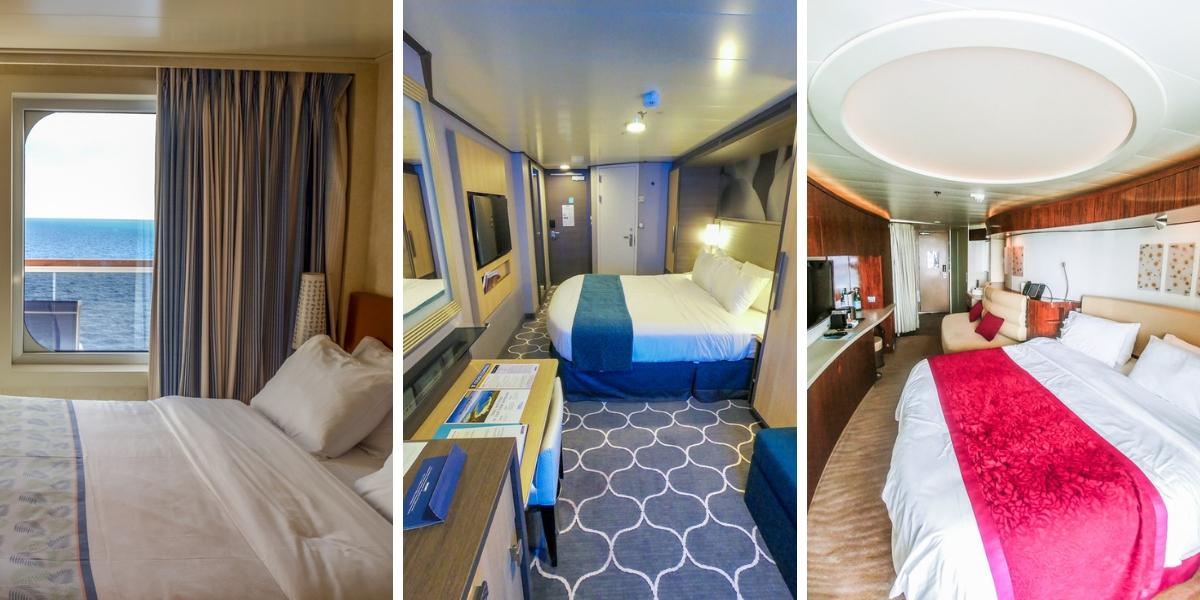 cruise cabin stateroom compare