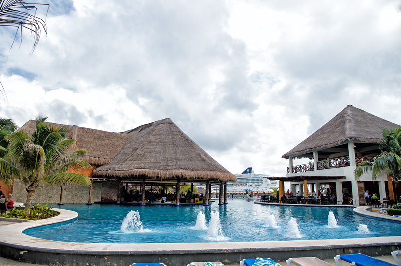 pool in costa maya mexico