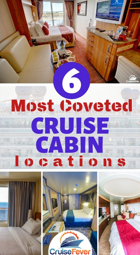 6 Most Coveted Cabin Locations on a Cruise Ship