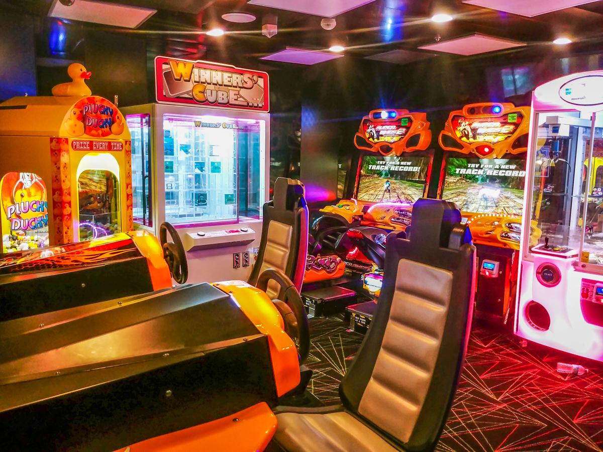 limit arcade for children cruise