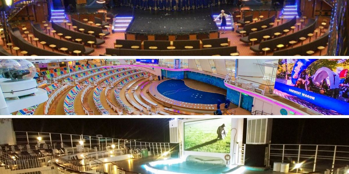 compare entertainment on cruise ships
