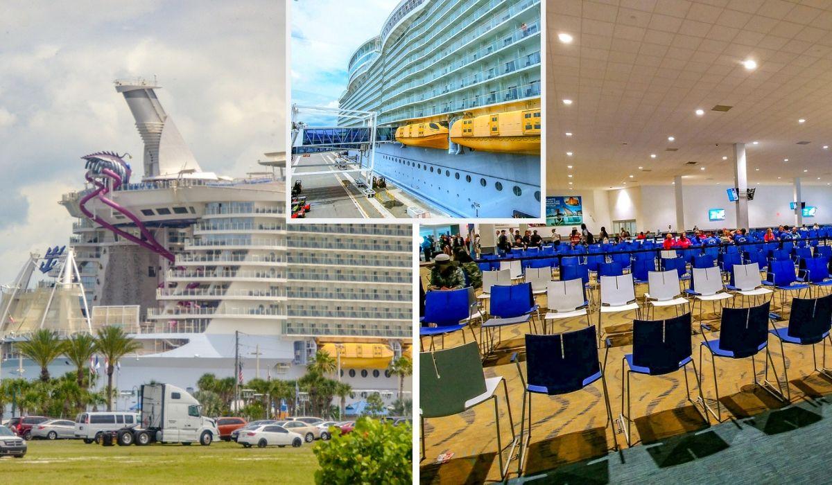 embarkation on harmony of the seas