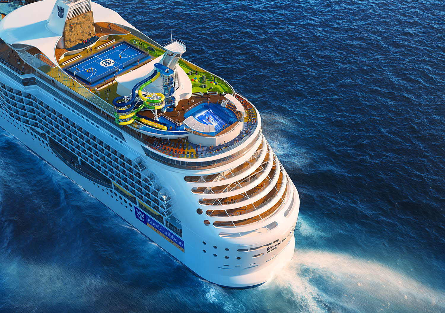 Royal Caribbean Cruise Ship Receiving New Features - M & M Travel