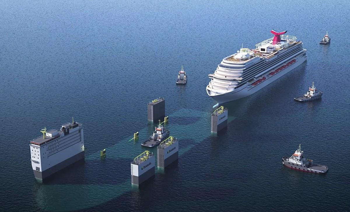 floating dry dock boskalis