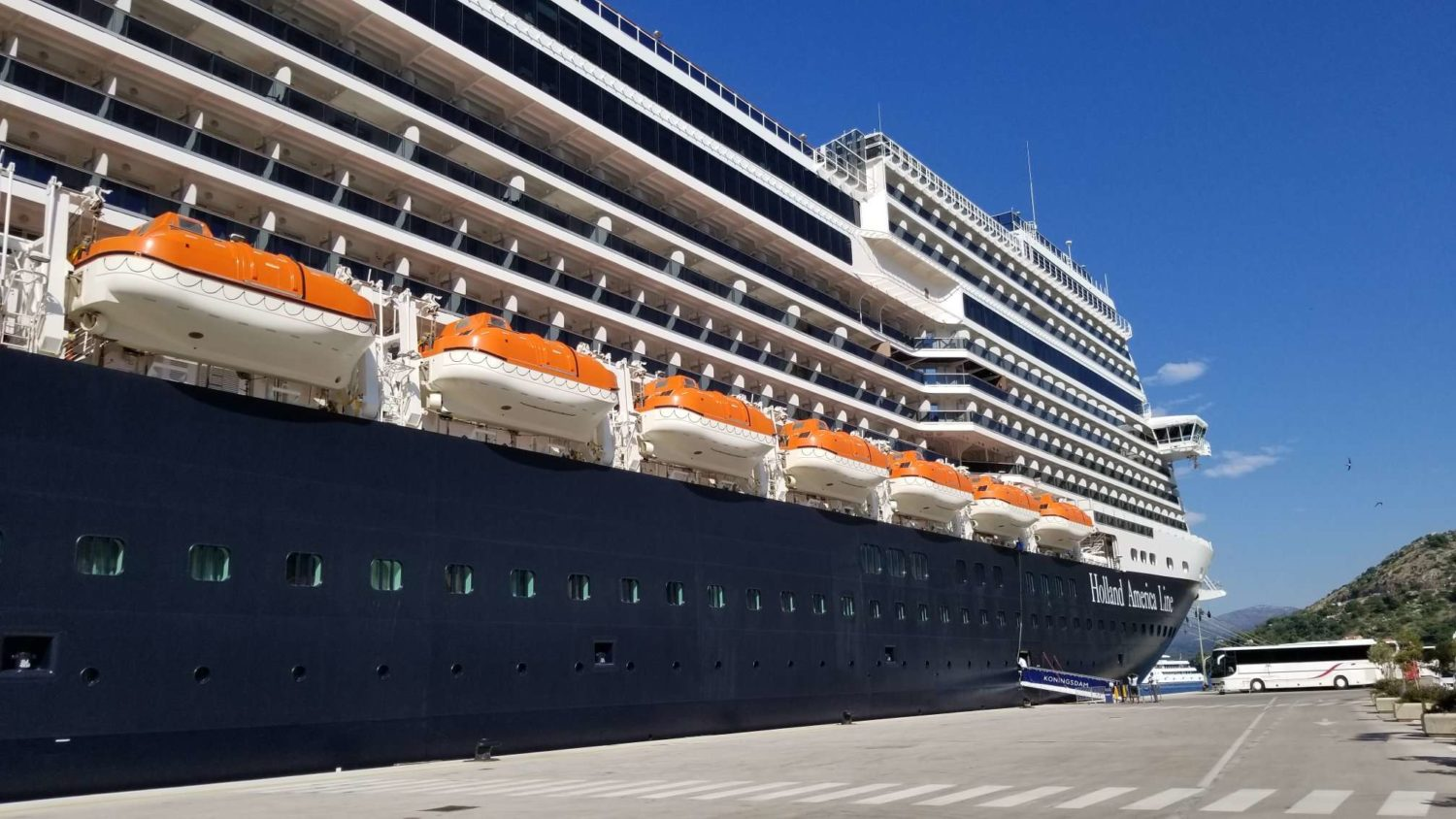 First Impressions of Holland America Line