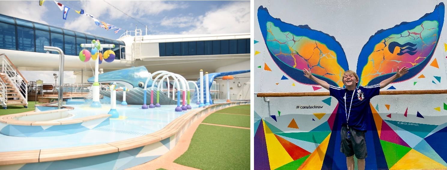 Princess Cruises' First Waterpark Opens on Cruise Ship