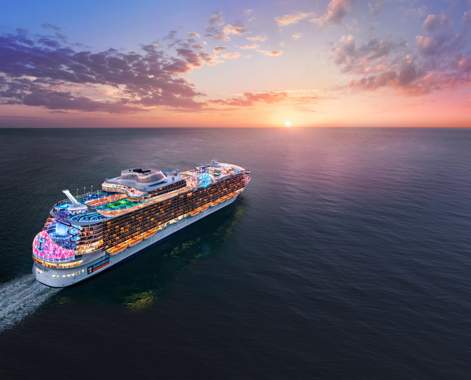 Wonder of the Seas, Royal Caribbean's New Cruise Ship, is Headed to Asia