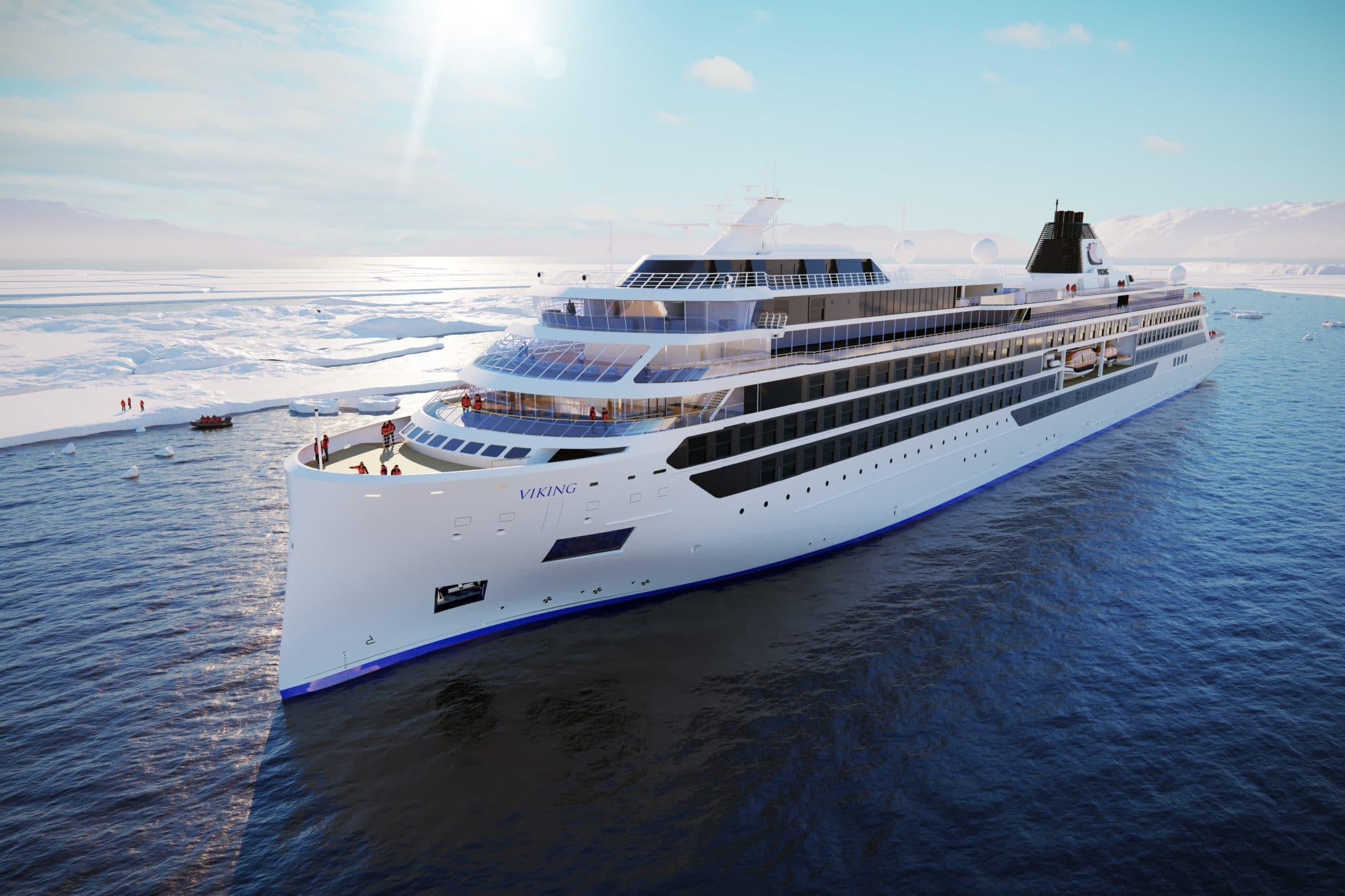 Premier aperçu des incroyables nouveaux navires de croisière d'expédition de Viking Star
