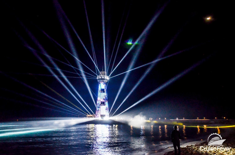 lighthouse show ocean cay