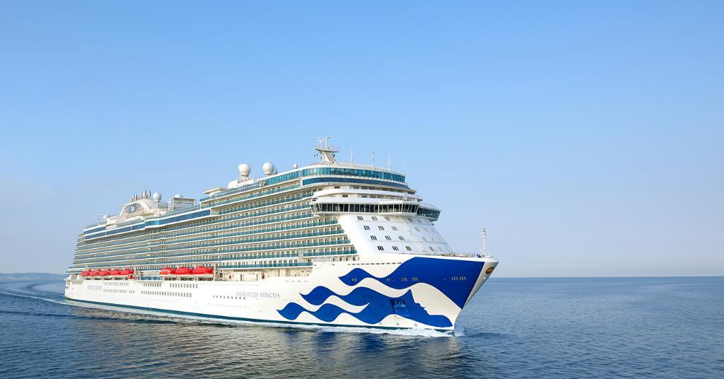 Princess Cruises' New Ship Completes Sea Trials