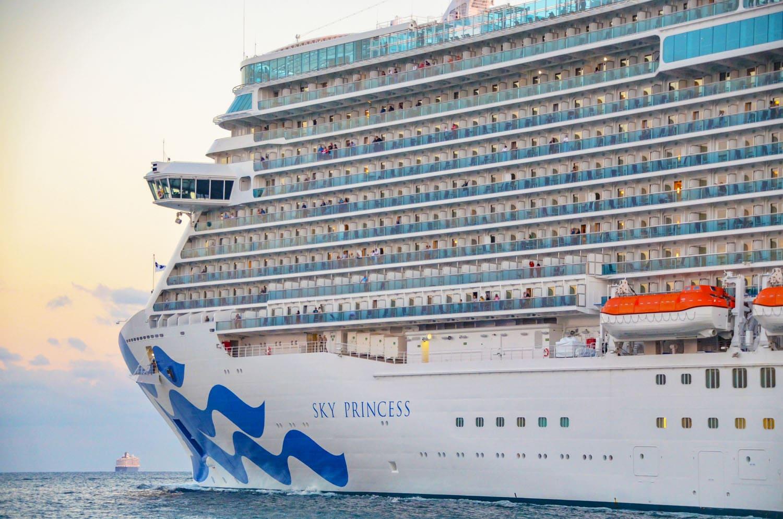 Princess Cruises Gives U.S. Restart Plans for 8 Cruise Ships