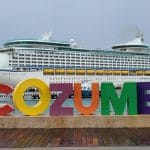 First Cruise Ship Docks in Cozumel in Over a Year