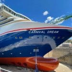 Photos of Carnival Cruise Ship's New Paint Job