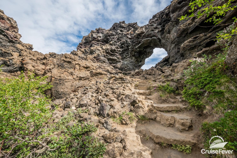 Dimmuborgir lava rock formations