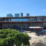 Photo Construction Update on New Cruise Terminals at PortMiami